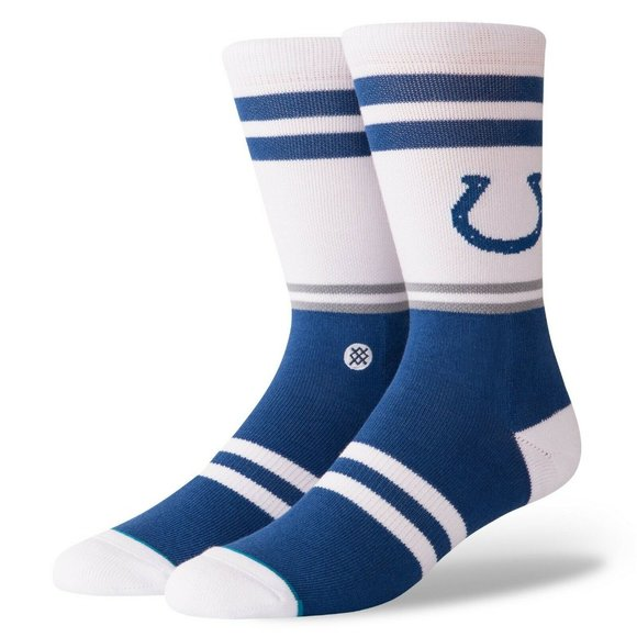 STANCE NFL Indianapolis Colts Socks Mens Sz Medium